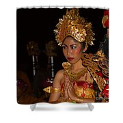 Balinese Dancer Shower Curtain
