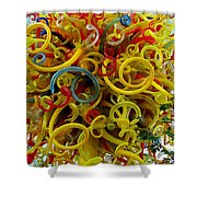 Ball Of Chihuly Glass Shower Curtain
