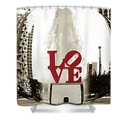 Ball Of Love Shower Curtain