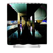 Ballard Bridge Shower Curtain