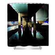 Ballard Bridge Shower Curtain