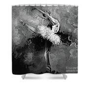 Ballerina 09912 Shower Curtain