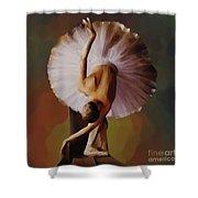 Ballerina Art 0421 Shower Curtain
