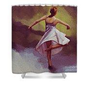 Ballerina Dance 0391 Shower Curtain