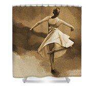 Ballerina Dance 0530 Shower Curtain