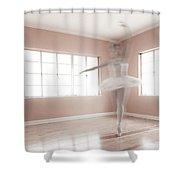 Ballerina Ghost Shower Curtain