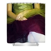 Ballerina Lap Shower Curtain