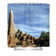 Ballerina Spire Shower Curtain