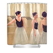 Ballerinas Waiting Shower Curtain