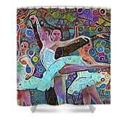 Ballet Carnival Shower Curtain