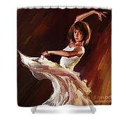 Ballet Dance 0706  Shower Curtain