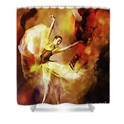 Ballet Dance 3390 Shower Curtain