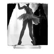 Ballet Dancer1 Shower Curtain