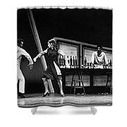 Ballet Fancy Free C1970 Shower Curtain