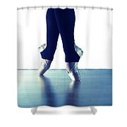 Ballet Feet 1 Shower Curtain