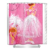Ballet Sisters 2007 Shower Curtain