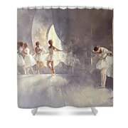 Ballet Studio  Shower Curtain
