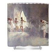 Ballet Studio  Shower Curtain by Peter Miller