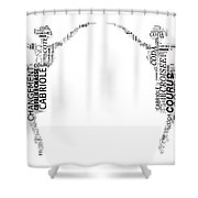 Ballet Terms Starting With C Shower Curtain