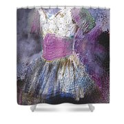 Ballet Tutu Shower Curtain