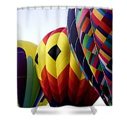 Balloon Color Shower Curtain
