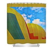 Balloon Fantasy 25 Shower Curtain