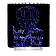 Balloon Festival Shower Curtain