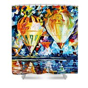 Balloon Festival New Shower Curtain