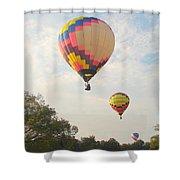 Balloon Race Shower Curtain