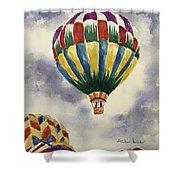 Balloon Ride Shower Curtain