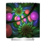 Balloonatic Shower Curtain