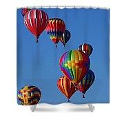 Balloons In Albuquerque Shower Curtain