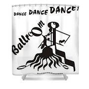 Ballroom Shower Curtain by Maria Watt