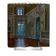 Ballroom Of The Lazienki Palace Shower Curtain