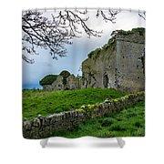 Ballyboggan Abbey, Co. Meath Shower Curtain