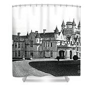 Balmoral Castle  Shower Curtain