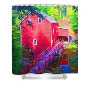 Balmoral Grist Mill Museum Shower Curtain