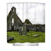 Balnakeil Church Shower Curtain