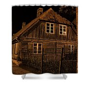 Baltic Houses Shower Curtain