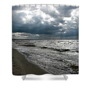 Baltic Sea 2017 Shower Curtain