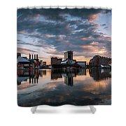 Baltimore Dawn Shower Curtain