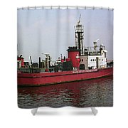 Baltimore Fire Boat 2003 Shower Curtain