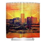 Baltimore Horizon Shower Curtain