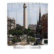 Baltimore Streetscene Shower Curtain