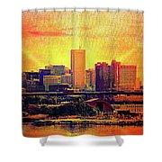 Baltimore Sunrise Shower Curtain