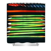 Bamboo Decor Shower Curtain