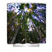 Bamboo Dreams #4 Shower Curtain