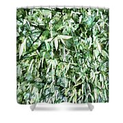 Bamboo Forest In South Carolina Shower Curtain