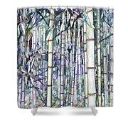 Bamboo Grove Shower Curtain