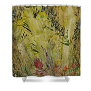 Bamboo In The Forest Shower Curtain